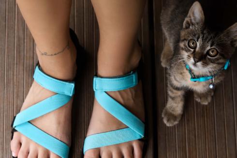 Barefoot Sandals - Be Lenka Flexi - Turquoise - 2