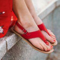 Barefoot Sandals - Be Lenka Promenade - Red - 1