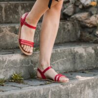 Barefoot Sandals - Be Lenka Summer - Red - 2