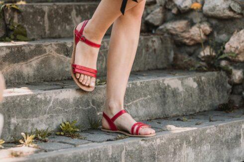 Barefoot Sandals - Be Lenka Summer - Red - 3