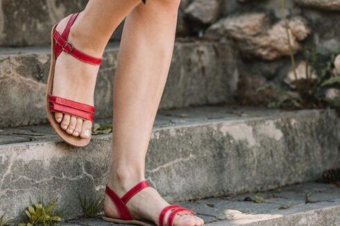 Barefoot Sandals - Be Lenka Summer - Red - 1