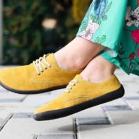 Barefoot Shoes - Be Lenka City - Mustard - 1