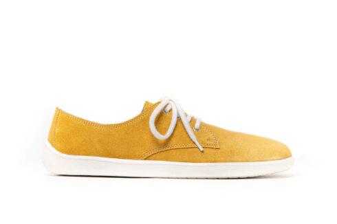 Barefoot Shoes - Be Lenka City - Mustard & White - 1