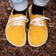 Barefoot Shoes - Be Lenka City - Mustard & White - 3