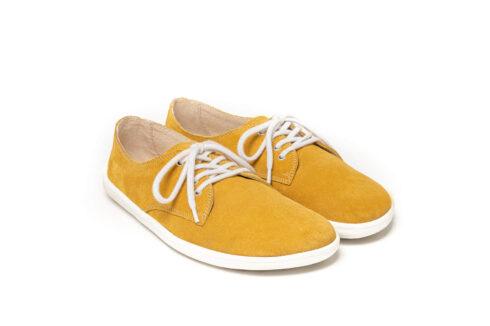 Barefoot Shoes - Be Lenka City - Mustard & White - 4