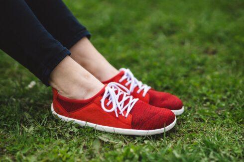 Barefoot Sneakers - Be Lenka Ace - Vegan - Red - 2