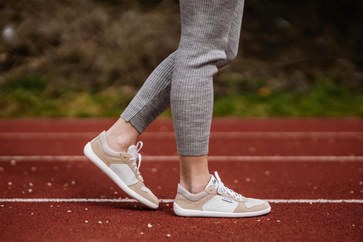 Barefoot Sneakers - Be Lenka Champ - Latte - 3