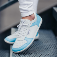 Barefoot Sneakers - Be Lenka Champ - Patriot - Blue & White - 1