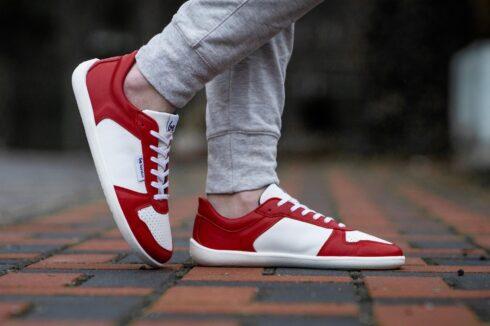 Barefoot Sneakers - Be Lenka Champ - Patriot - Red & White - 3