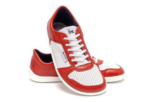 Barefoot Sneakers - Be Lenka Champ - Patriot - Red & White - 5