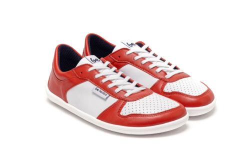 Barefoot Sneakers - Be Lenka Champ - Patriot - Red & White - 6
