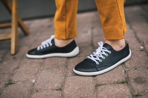 Barefoot Sneakers - Be Lenka Prime - Black & White - 3
