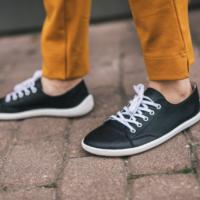 Barefoot Sneakers - Be Lenka Prime - Black & White - 1
