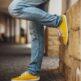 Barefoot Sneakers - Be Lenka Prime - Mustard - 5