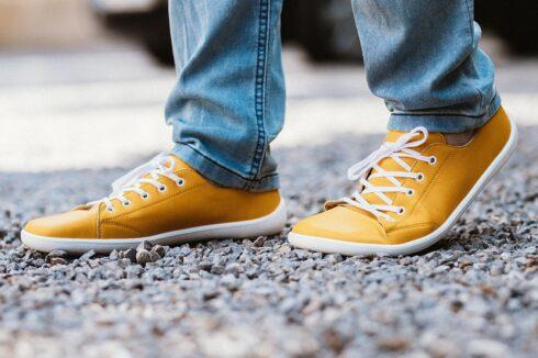 Barefoot Sneakers - Be Lenka Prime - Mustard - 6