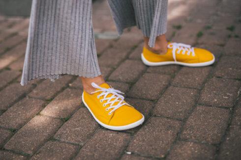 Barefoot Sneakers - Be Lenka Prime - Mustard - 2