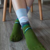 Barefoot Socks - Crew - Alpine - 1
