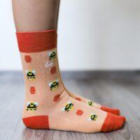 Barefoot Socks - Crew - Bees - 2