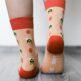 Barefoot Socks - Crew - Bees - 4