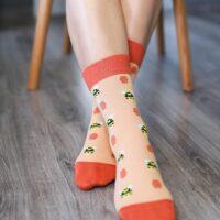 Barefoot Socks - Crew - Bees - 1