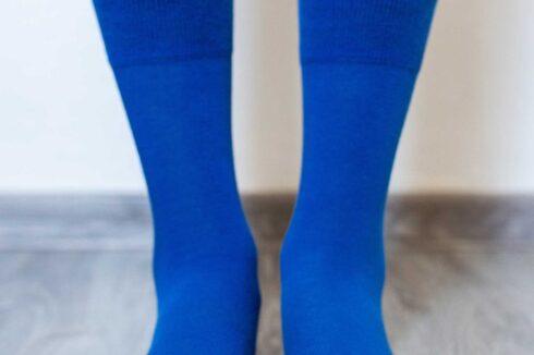 Barefoot Socks - Crew - Blue - 2