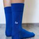 Barefoot Socks - Crew - Blue - 3