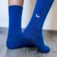 Barefoot Socks - Crew - Blue - 4