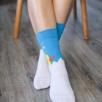 Barefoot Socks - Crew - Chick - 1