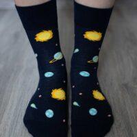 Barefoot Socks - Crew - Galaxy - 2