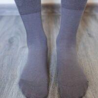 Barefoot Socks - Crew - Grey - 2