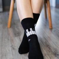 Barefoot Socks - Crew - Piano - 1