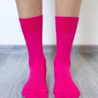 Barefoot Socks - Crew - Pink - 2