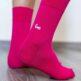 Barefoot Socks - Crew - Pink - 4