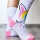 Barefoot Socks - Crew - Unicorn - 5