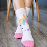 Barefoot Socks - Crew - Unicorn - 1