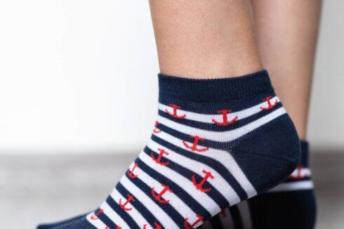 Barefoot Socks - Low-Cut - Anchor - 3