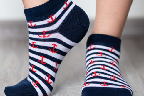 Barefoot Socks - Low-Cut - Anchor - 4