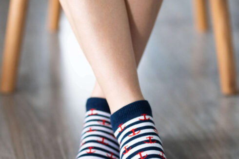 Barefoot Socks - Low-Cut - Anchor - 1