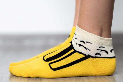 Barefoot Socks - Low-Cut - Beer - 3