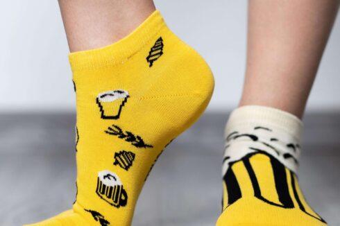 Barefoot Socks - Low-Cut - Beer - 4