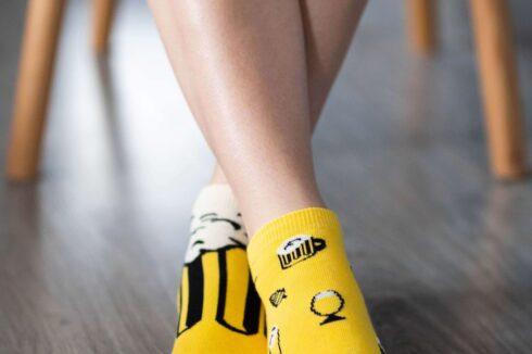 Barefoot Socks - Low-Cut - Beer - 1