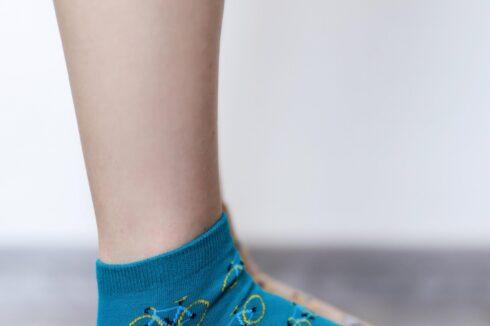Barefoot Socks - Low-Cut - Bikes - 2