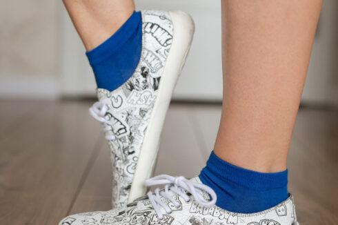 Barefoot Socks - Low-Cut - Blue - 4