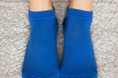 Barefoot Socks - Low-Cut - Blue - 1