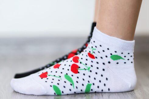 Barefoot Socks - Low-Cut - Cherries - 3