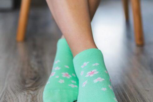 Barefoot Socks - Low-Cut - Cherry Blossom - 4