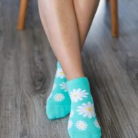 Barefoot Socks - Low-Cut - Daisies - 1