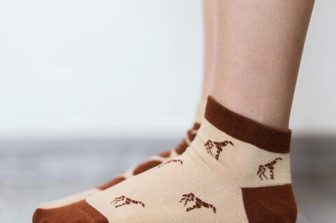 Barefoot Socks - Low-Cut - Giraffe - 3