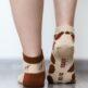 Barefoot Socks - Low-Cut - Giraffe - 4