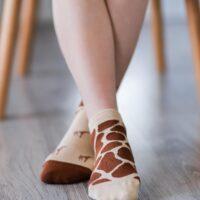 Barefoot Socks - Low-Cut - Giraffe - 1